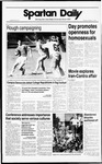 Spartan Daily, October 11, 1988 by San Jose State University, School of Journalism and Mass Communications