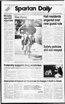 Spartan Daily, October 13, 1988 by San Jose State University, School of Journalism and Mass Communications