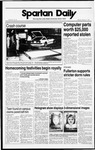 Spartan Daily, October 17, 1988 by San Jose State University, School of Journalism and Mass Communications