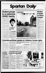 Spartan Daily, October 18, 1988 by San Jose State University, School of Journalism and Mass Communications