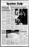 Spartan Daily, October 19, 1988 by San Jose State University, School of Journalism and Mass Communications
