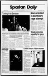 Spartan Daily, October 21, 1988 by San Jose State University, School of Journalism and Mass Communications