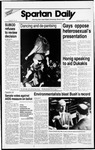 Spartan Daily, October 27, 1988 by San Jose State University, School of Journalism and Mass Communications