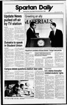 Spartan Daily, October 28, 1988 by San Jose State University, School of Journalism and Mass Communications