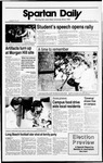 Spartan Daily, November 2, 1988 by San Jose State University, School of Journalism and Mass Communications