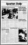 Spartan Daily, November 3, 1988 by San Jose State University, School of Journalism and Mass Communications