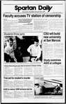 Spartan Daily, November 4, 1988 by San Jose State University, School of Journalism and Mass Communications
