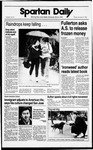 Spartan Daily, November 17, 1988 by San Jose State University, School of Journalism and Mass Communications
