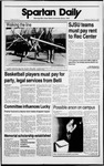 Spartan Daily, February 8, 1989 by San Jose State University, School of Journalism and Mass Communications