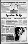 Spartan Daily, February 16, 1989 by San Jose State University, School of Journalism and Mass Communications
