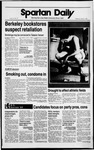 Spartan Daily, March 1, 1989 by San Jose State University, School of Journalism and Mass Communications