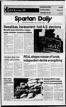 Spartan Daily, March 7, 1989 by San Jose State University, School of Journalism and Mass Communications