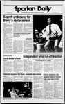 Spartan Daily, March 28, 1989 by San Jose State University, School of Journalism and Mass Communications