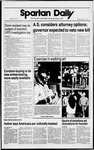 Spartan Daily, April 3, 1989 by San Jose State University, School of Journalism and Mass Communications