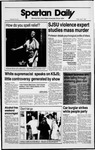 Spartan Daily, April 7, 1989 by San Jose State University, School of Journalism and Mass Communications