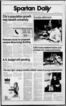 Spartan Daily, May 4, 1989 by San Jose State University, School of Journalism and Mass Communications