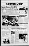 Spartan Daily, May 5, 1989 by San Jose State University, School of Journalism and Mass Communications
