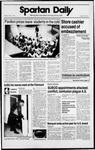 Spartan Daily, May 15, 1989 by San Jose State University, School of Journalism and Mass Communications