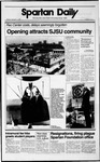 Spartan Daily, September 11, 1989 by San Jose State University, School of Journalism and Mass Communications