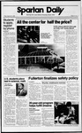 Spartan Daily, September 22, 1989 by San Jose State University, School of Journalism and Mass Communications