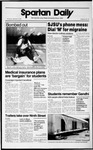 Spartan Daily, September 27, 1989 by San Jose State University, School of Journalism and Mass Communications