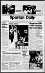 Spartan Daily, October 5, 1989 by San Jose State University, School of Journalism and Mass Communications
