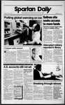 Spartan Daily, October 13, 1989 by San Jose State University, School of Journalism and Mass Communications