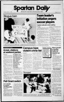 Spartan Daily, October 17, 1989 by San Jose State University, School of Journalism and Mass Communications