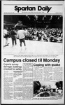 Spartan Daily, October 19, 1989 by San Jose State University, School of Journalism and Mass Communications
