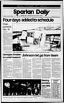 Spartan Daily, October 24, 1989 by San Jose State University, School of Journalism and Mass Communications