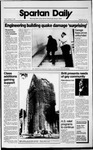 Spartan Daily, October 27, 1989 by San Jose State University, School of Journalism and Mass Communications