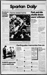 Spartan Daily, October 30, 1989 by San Jose State University, School of Journalism and Mass Communications