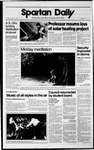 Spartan Daily, October 31, 1989 by San Jose State University, School of Journalism and Mass Communications