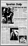 Spartan Daily, November 1, 1989 by San Jose State University, School of Journalism and Mass Communications