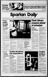 Spartan Daily, November 2, 1989 by San Jose State University, School of Journalism and Mass Communications