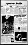 Spartan Daily, November 22, 1989 by San Jose State University, School of Journalism and Mass Communications