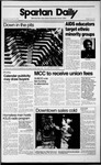 Spartan Daily, November 29, 1989 by San Jose State University, School of Journalism and Mass Communications