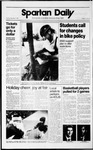 Spartan Daily, December 5, 1989 by San Jose State University, School of Journalism and Mass Communications