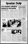 Spartan Daily, December 11, 1989 by San Jose State University, School of Journalism and Mass Communications