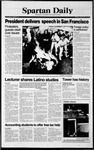 Spartan Daily, February 9, 1990 by San Jose State University, School of Journalism and Mass Communications