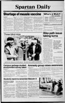 Spartan Daily, February 26, 1990 by San Jose State University, School of Journalism and Mass Communications