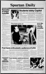 Spartan Daily, March 1, 1990