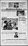 Spartan Daily, October 1, 1990 by San Jose State University, School of Journalism and Mass Communications