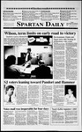 Spartan Daily, November 7, 1990 by San Jose State University, School of Journalism and Mass Communications