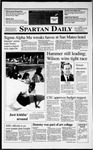 Spartan Daily, November 8, 1990 by San Jose State University, School of Journalism and Mass Communications
