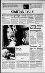 Spartan Daily, February 25, 1991 by San Jose State University, School of Journalism and Mass Communications