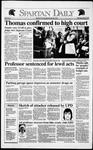 Spartan Daily, October 16, 1991