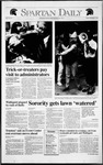 Spartan Daily, November 1, 1991 by San Jose State University, School of Journalism and Mass Communications