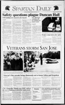 Spartan Daily, November 12, 1991 by San Jose State University, School of Journalism and Mass Communications