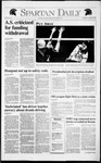 Spartan Daily, November 21, 1991 by San Jose State University, School of Journalism and Mass Communications